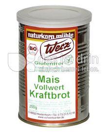 Produktabbildung: Werz Mais-Vollwert-Kraftbrot 250 g