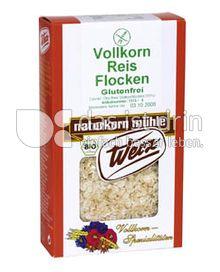 Produktabbildung: Werz Reis-Vollkorn-Flocken 250 g