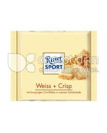 Produktabbildung: Ritter Sport Weiss + Crisp 100 g