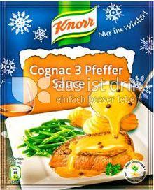 Produktabbildung: Knorr Cognac 3 Pfeffer Sauce