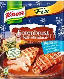 Produktabbildung: Knorr Fix für Entenbrust in Rotweinsauce