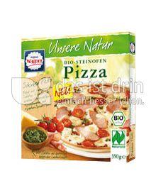 Produktabbildung: Original Wagner Unsere Natur Steinofen-Pizza Schinken-Pesto 350 g