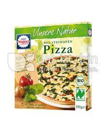 Produktabbildung: Original Wagner Unsere Natur Steinofen-Pizza Käse-Spinat 350 g