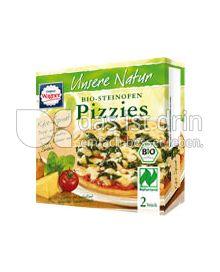 Produktabbildung: Original Wagner Unsere Natur Steinofen-Pizzies Käse-Spinat 300 g