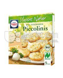 Produktabbildung: Original Wagner Unsere Natur Piccolinis Drei-Käse 270 g