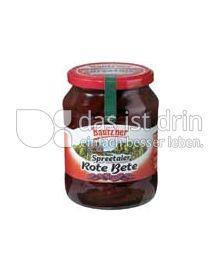 Produktabbildung: Bautz'ner Rote Bete 430 g