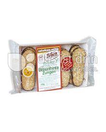 Produktabbildung: Werz Braunhirse-Zungen 150 g