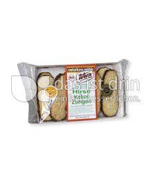 Produktabbildung: Werz Hirse-Vollkorn-Kokos-Zungen 30 g