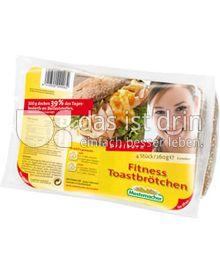Produktabbildung: Mestemacher Fitness Toastbrötchen 260 g