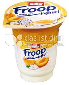 Produktabbildung: Müller Froop® Frucht auf Joghurt Aprikose-Vanilla 150 g