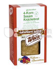 Produktabbildung: Werz 4-Korn-Sesam-Knäckebrot 150 g