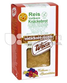 Produktabbildung: Werz Reis-Knäckebrot 150 g