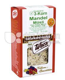 Produktabbildung: Werz 3-Korn-Mandel-Müsli 400 g