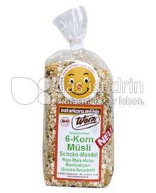 Produktabbildung: Werz 6-Korn-Müsli-Schoko-Mandel 250 g