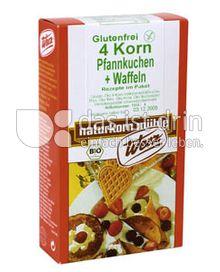 Produktabbildung: Werz 4-Korn-Vollkorn-Pfannkuchen & Waffeln 250 g