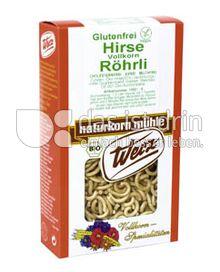 Produktabbildung: Werz Hirse-Vollkorn-Röhrli 150 g
