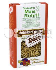 Produktabbildung: Werz Mais-Vollkorn-Röhrli 150 g
