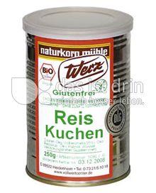 Produktabbildung: Werz Reis-Kuchen 250 g