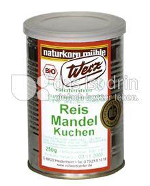 Produktabbildung: Werz Reis-Mandel-Kuchen 250 g