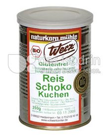 Produktabbildung: Werz Reis-Schoko-Kuchen 250 g