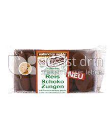 Produktabbildung: Werz Reis-Schoko-Zungen 100 g