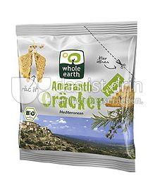 Produktabbildung: Whole Earth Amaranth Cräcker Mediterranean 100 g