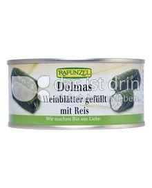Produktabbildung: Rapunzel Dolmas Weinblätter gefüllt mit Reis
