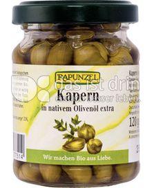 Produktabbildung: Rapunzel Kapern in nativem Olivenöl extra 120 g
