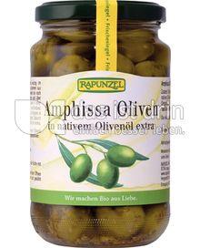 Produktabbildung: Rapunzel Amphissa Oliven in nativem Olivenöl extra