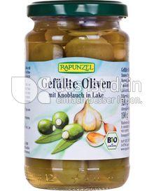 Produktabbildung: Rapunzel Gefüllte Oliven mit Knoblauch in Lake