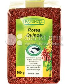 Produktabbildung: Rapunzel Rotes Quinoa 500 g