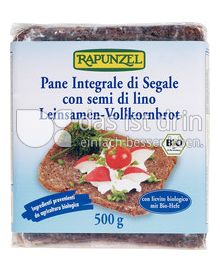 Produktabbildung: Rapunzel Leinsamen-Vollkornbrot 500 g