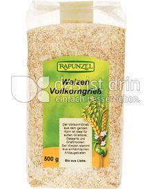 Produktabbildung: Rapunzel Weizen Vollkorngrieß 500 g