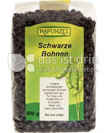 Produktabbildung: Rapunzel Schwarze Bohnen 500 g