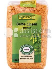 Produktabbildung: Rapunzel Gelbe Linsen 500 g