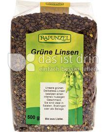 Produktabbildung: Rapunzel Grüne Linsen 500 g