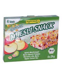 Produktabbildung: Rapunzel Organic Muesli-Snack 116 g