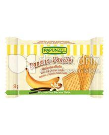 Produktabbildung: Rapunzel Banane-Vanille Dinkelwaffel 50 g