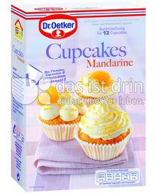 Produktabbildung: Dr. Oetker Cupcakes Mandarine 340 g