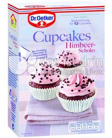 Produktabbildung: Dr. Oetker Cupcakes Himbeer-Schoko 320 g