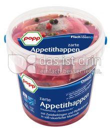 Produktabbildung: Popp zarte Appetithappen 400 g