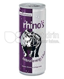 Produktabbildung: rhino's natural energy & fruit 330 ml
