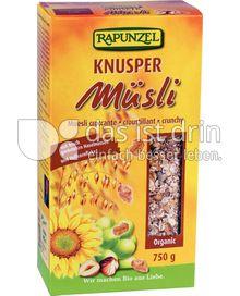 Produktabbildung: Rapunzel Knusper Müsli 750 g