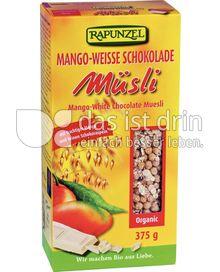 Produktabbildung: Rapunzel Mango-Weisse Schokolade Müsli 375 g