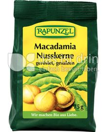 Produktabbildung: Rapunzel Macadamia Nusskerne 75 g