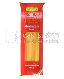 Produktabbildung: Rapunzel Makkaroni Semola 500 g