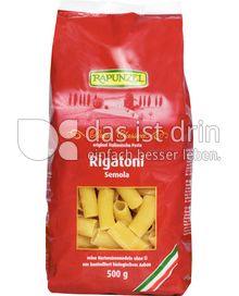 Produktabbildung: Rapunzel Rigatoni Semola 500 g
