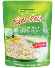 Produktabbildung: Rapunzel Fixer Reis Langkornreis