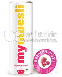 Produktabbildung: mymuesli Beeren-Müsli 575 g