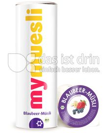 Produktabbildung: mymuesli Blaubeer-Müsli 575 g